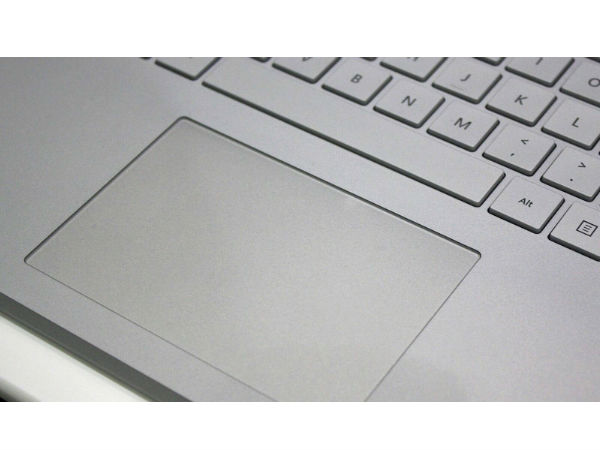 Fingerprint Sensor on the TrackPad