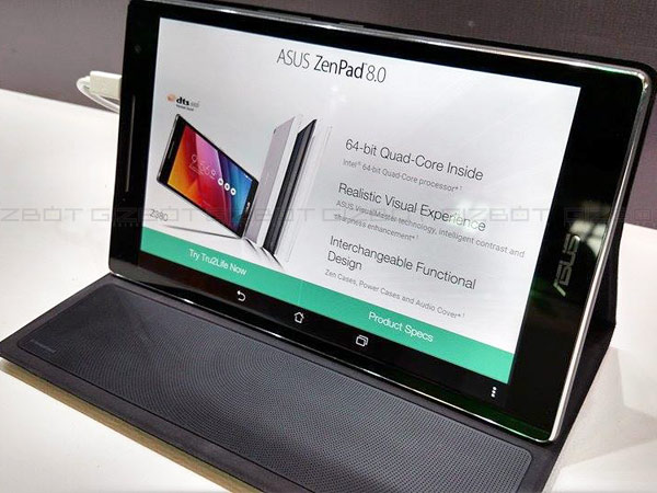 Asus ZenPad 7.0 Tablet with 7-inch Display, Six DTS Speakers Launched
