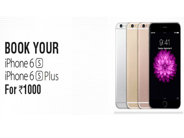 Now Get Your iPhone 6S and 6S Plus Pre-Booked on Shopclues