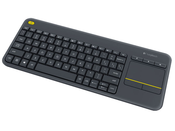 Logitech Launches Wireless Touch Keyboard K400 Plus