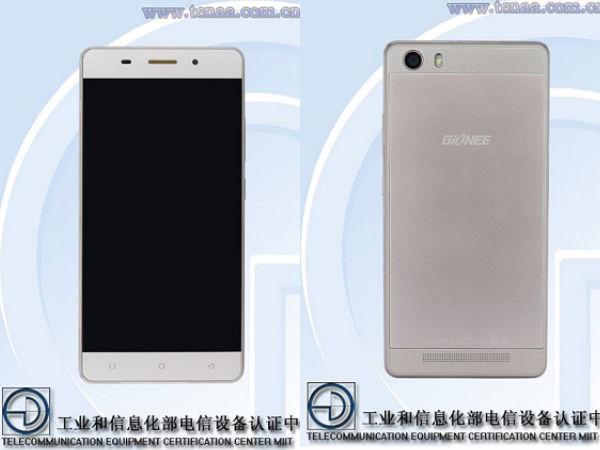 Gionee GN5001 Smartphone with Ultra-Thin Bezels Spotted At TENAA