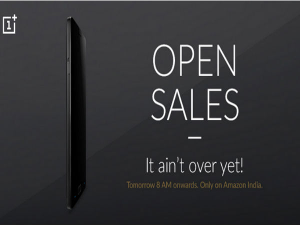OnePlus 2 to Go on Open Sale Tomorrow Starting at 8AM on Amazon India