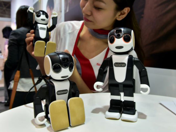 'Smart' robot phone that can dance if you wish