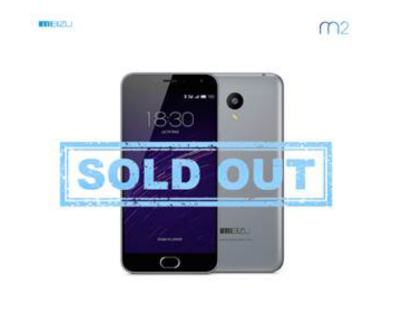 Meizu M2 Units Sold Out in Few Minutes on Snapdeal!