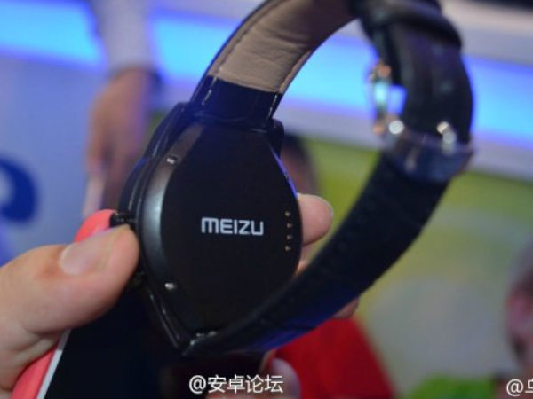 Meizu's Upcoming Smartwatch Expected To Launch on October 21