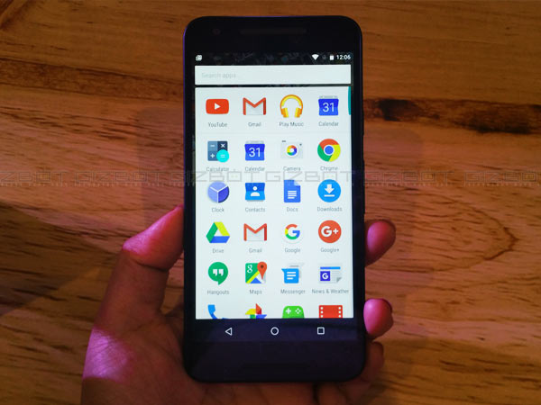 Google LG Nexus 5X First Impressions