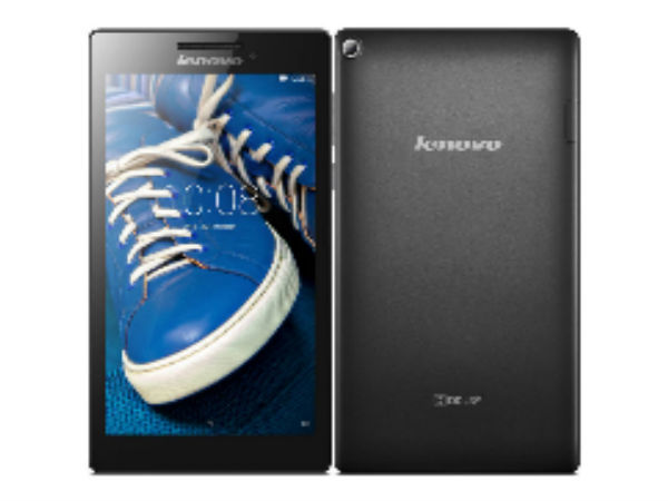 Lenovo Launches Tab 2 A7-20 Tablet with 7-inch Display, Quad-Core CPU