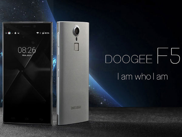 Doogee F5 smartphone with 5.5 inch display and 13MP camera is out