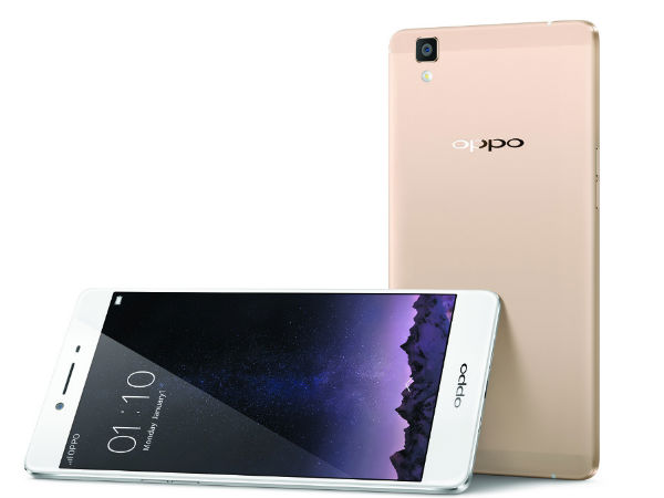 Oppo R7s with 2.5D Arc Edge Screen, 4GB RAM is Now Official