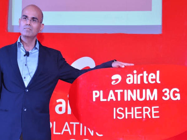 Airtel Rolls Out Platinum 3G Network for Customers in Baroda