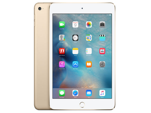 Apple iPad Mini 4 with 7.9-inch Display is Now Available In India