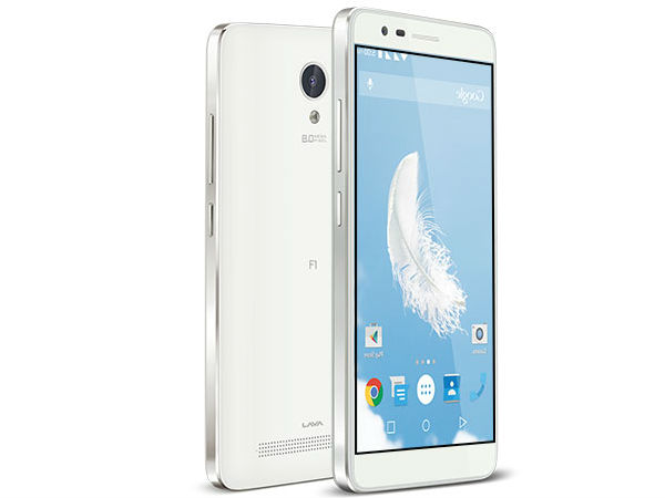 Lava Launches Iris Fuel F1 Smartphone with 4000mAh battery