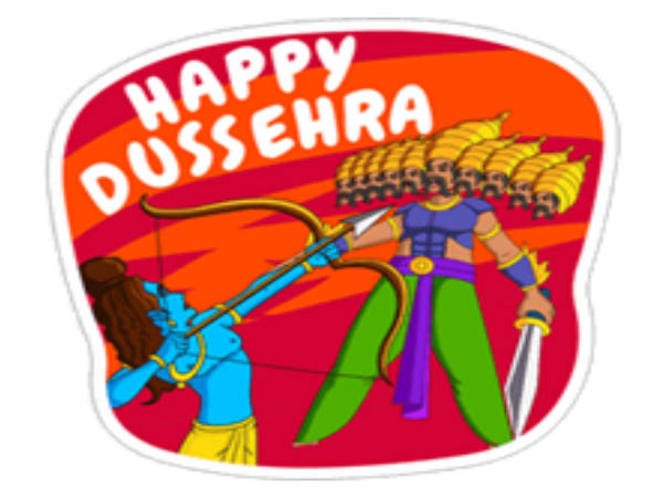 Hike Launches Special Stickers Inregard to Dussehra Celebration