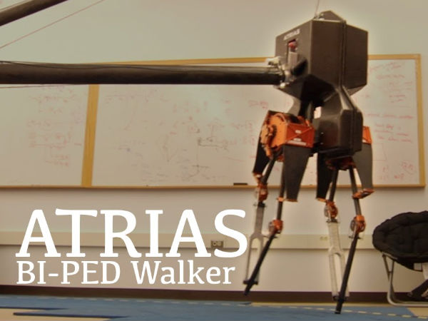 New technology can make robots walk and run like humans