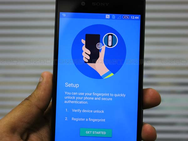 Use Fingerprint Scanner to tighten security
