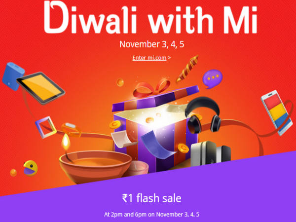 Xiaomi's Diwali Offer Delas on Mi 4i, Mi 4, Redmi 2 and More
