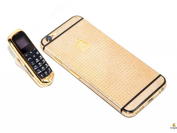 Goldgenie announces World's smallest 24K Gold mobile phone