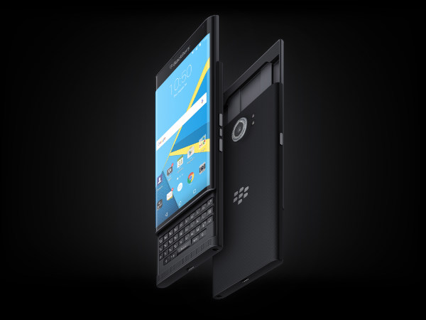 BlackBerry Priv exudes features of both Android and BlackBerry