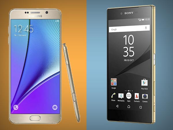 Sony Xperia Z5 vs Samsung Galaxy Note 5: The Phablet Flagships Battle!