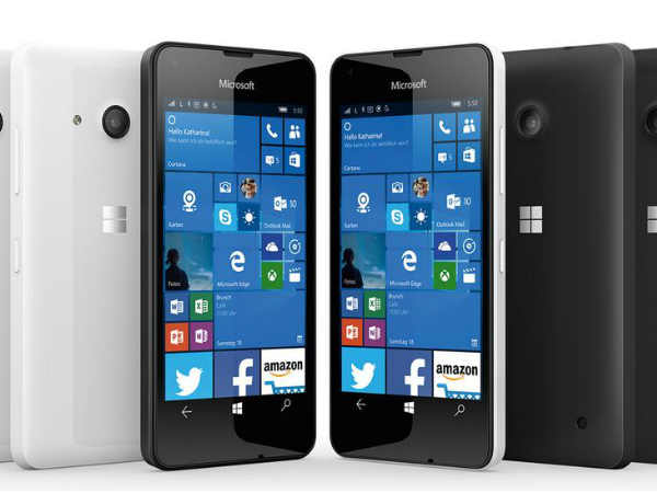 Microsoft Lumia 550 to be first budget Lumia device to sport a front f