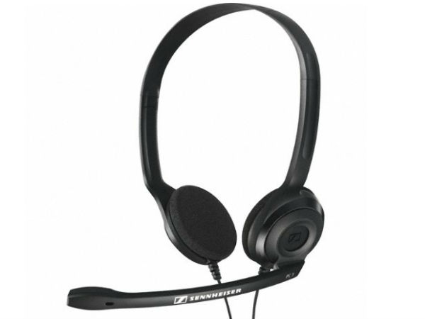 Flat 22% Off On Sennheiser PC 3 Chat On-Ear Headphone with Mic