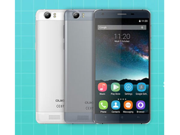 Oukitel K6000 with a huge 6000mAH battery now up for pre-orders