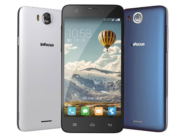 Infocus M535 with dual 13MP cameras accidentally listed on Snapdeal