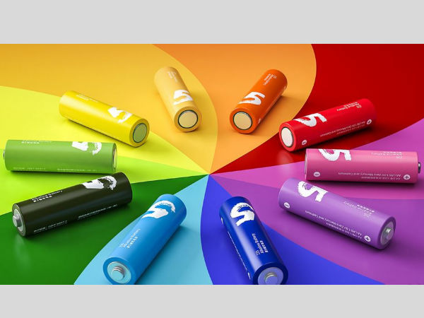 Xiaomi launches Mi Rainbow batteries to take on 'boring' Pencil Cells