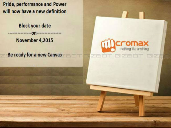 Micromax's next flagship smartphone to be launched on November 4