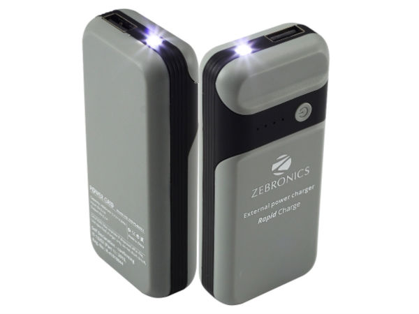 Zebronics 4000mAh Power Bank with LED Torch launched at Rs 1,110