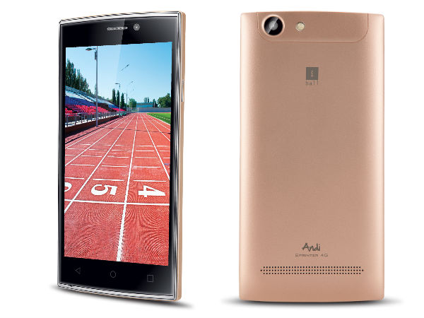 iBall Andi Sprinter 4G with Universal Remote, Android 5.1 launched
