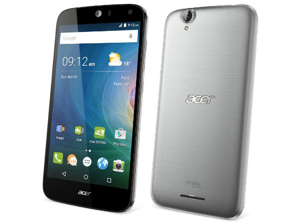 Acer Liquid Z530 and Liquid Z630s Smartphones Launched