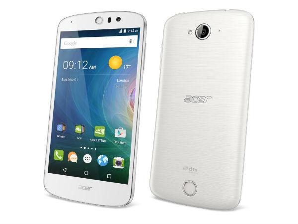 Acer Liquid Z530 and Liquid Z630s Smartphones Launched