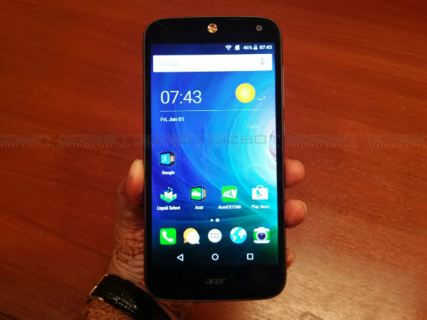 Acer Liquid Z630s First Impressions
