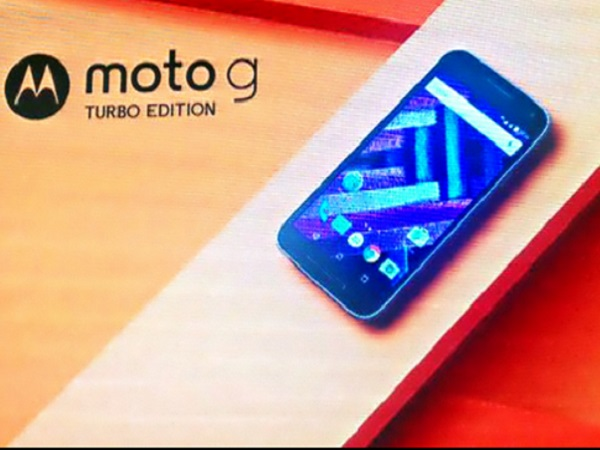 Motorola Moto G Turbo Edition announced: Key specs and features