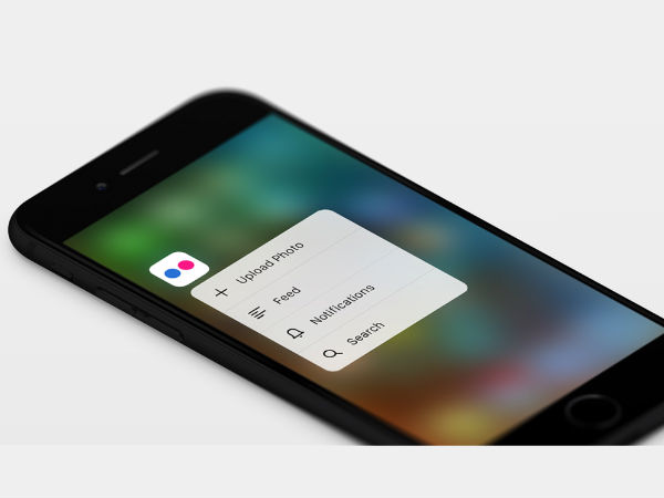 Flickr iOS App updated with 3D Touch Support and Universal Links