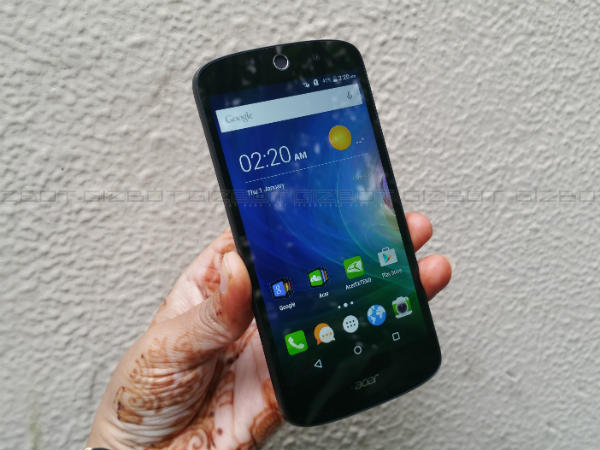 Acer Liquid Z530 First Impressions An Average Looking