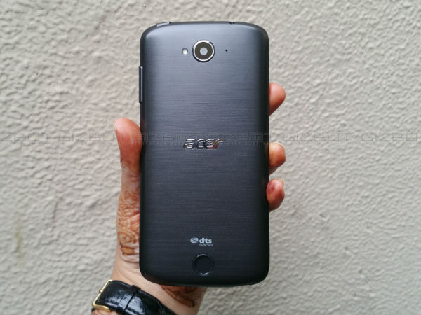 Acer Liquid Z530 First Impressions: An average looking selfie phone