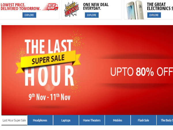 UPTO 80% OFF on Electronics Devices