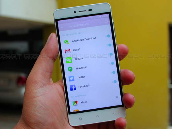 Gionee F103 with 1GB and 3GB variants launched: Key specs and features