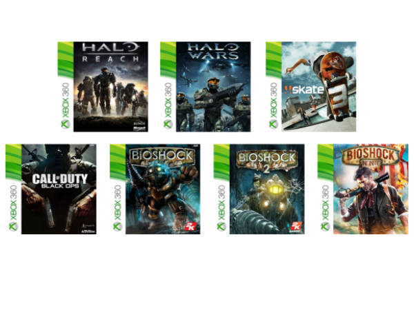Microsoft Announces First Batch Of Xbox 360 Backward Compatible Games
