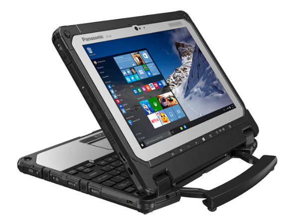 Panasonic launches 'World's First Fully Rugged' Convertible