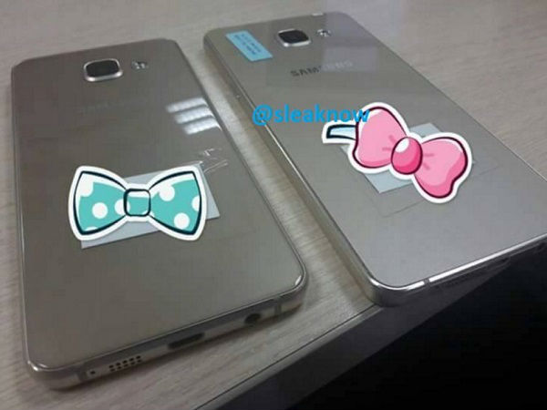 Samsung Galaxy A3 and A5 2016 Edition spotted in leaked photos