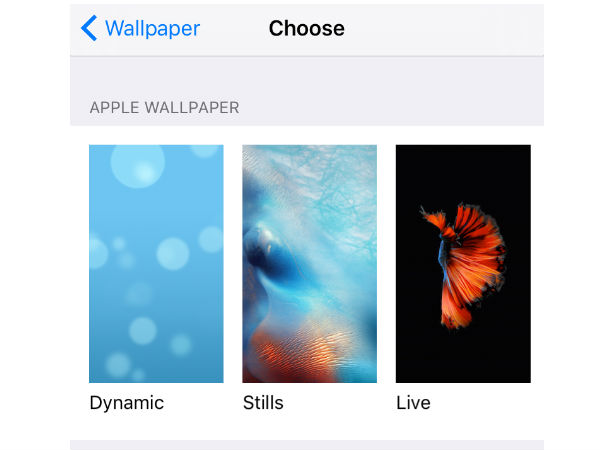 Disable motion-enabled wallpaper