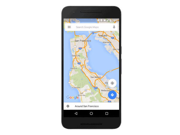 Google Maps update lets you navigate offline