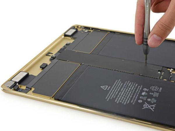 Apple iPad Pro Teardown confirms 4GB RAM, and 10307mAh battery
