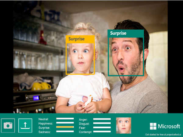 Microsoft's Project Oxford can tell your Emotions and Recognize speech