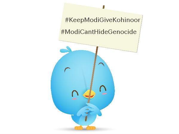 Twitterati troll Modi's Britain visit