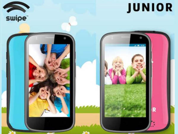 Swipe Junior smartphone for kids launched at Rs 5,999