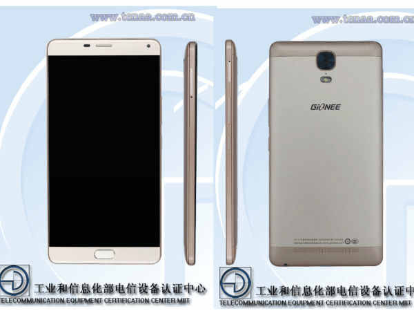Gionee GN8001 with 6 inch display, 3GB RAM clears TENAA certification